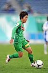 Mana Iwabuchi (Beleza),.APRIL 22, 2012 - Football/Soccer : 2012 Plenus Nadeshiko League,2nd sec match between NTV Beleza 3-0 AS Elfen Sayama FC at Komazawa Olympic Park Stadium, Tokyo, Japan. (Photo by Jun Tsukida/AFLO SPORT) [0003]