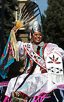 Fallon resident Shannon Hooper, Miss Indian Nations, rides in the Nevada Day parade in Carson City, Nev. on Saturday, Oct. 27, 2012. .Photo by Cathleen Allison
