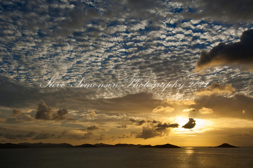 Savannah Bay Sunset from Katitche Point<br />