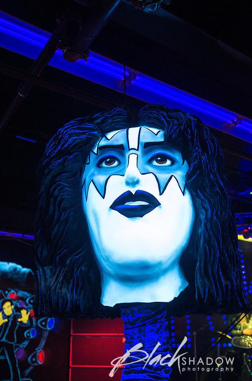 KISS Monster mini-golf, Las Vegas, March 2012