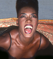 Grace Jones 1991<br /> Photo By John Barrett/PHOTOlink