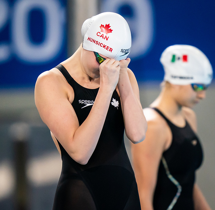 Lima, Peru -  26/August/2019 - Arianna Hunsicker competes in the women's 200m IM SM10 at the Parapan Am Games in Lima, Peru. Photo: Dave Holland/Canadian Paralympic Committee.