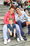 Kayla Collins, Christina Culligan and Radek Bihary at the Samba Festival on West Street...(Photo credit should read Jenny Matthews www.newsfile.ie)....This Picture has been sent you under the conditions enclosed by:.Newsfile Ltd..The Studio,.Millmount Abbey,.Drogheda,.Co Meath..Ireland..Tel: +353(0)41-9871240.Fax: +353(0)41-9871260.GSM: +353(0)86-2500958.email: pictures@newsfile.ie.www.newsfile.ie.