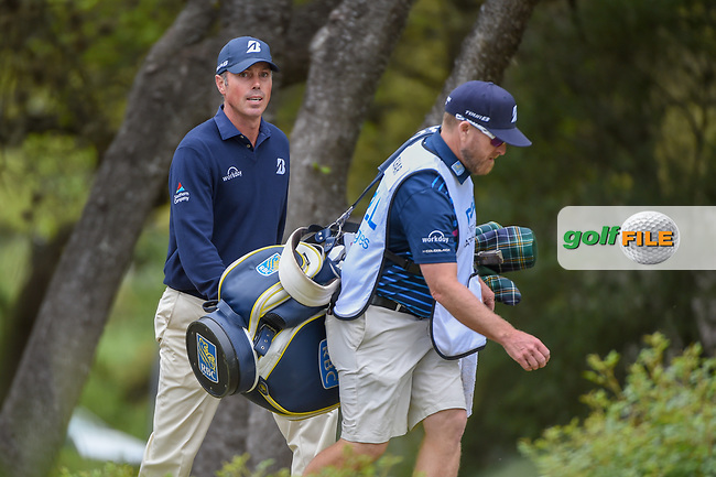 Matt Kuchar (USA) approaches the tee on 10 during day 4 of the WGC Dell Match Play, at the Austin Country Club, Austin, Texas, USA. 3/30/2019.<br /> Picture: Golffile | Ken Murray<br /> <br /> <br /> All photo usage must carry mandatory copyright credit (© Golffile | Ken Murray)
