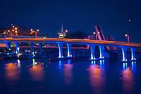 MacArthur Causeway into South Beach from Miami, Florida, USA, Oct. 17, 2011. Photo by Debi Pittman Wilkey