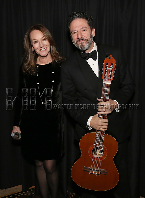 Jessica Molaskey and John Pizzarelli attend the 2017 Dramatists Guild Foundation Gala reception at Gotham Hall on November 6, 2017 in New York City.