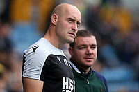 Caretaker Millwall Manager, Adam Barrett during Millwall vs Leeds United, Sky Bet EFL Championship Football at The Den on 5th October 2019