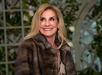 United States Ambassador to France Jamie McCourt arrives for the State Dinner honoring Dinner honoring President Emmanuel Macron of the French Republic and Mrs. Brigitte Macron at the White House in Washington, DC on Tuesday, April 24, 2018.<br /> Credit: Ron Sachs / CNP /MediaPunch