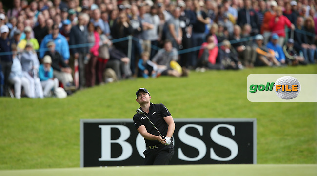 James Morrison (ENG) during Round Three of the 2015 BMW PGA Championship over the West Course at Wentworth, Virginia Water, London. 23/05/2015. Picture David Lloyd | www.golffile.ie.