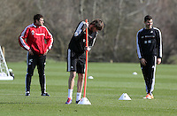Pictured: Michu (C). Saturday 08 March 2014<br />