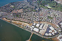 Alameda Island California Aerial Photography