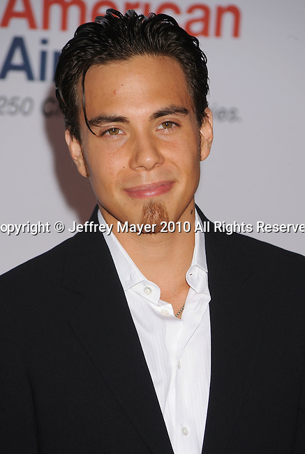 CENTURY CITY, CA. - May 07: Olympic gold medalist Apolo Ohno arrives to the 17th Annual Race To Erase MS held at Hyatt Regency Century Plaza on May 7, 2010 in Century City, California.