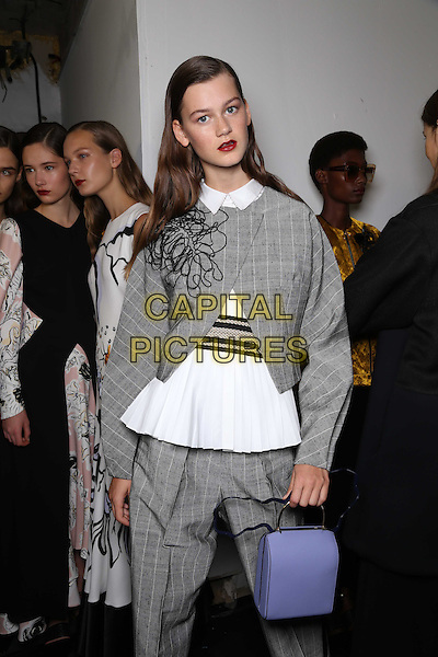 ROKSANDA<br /> London Fashion Week, Ready to Wear, FW17<br /> on September 19, 2016<br /> CAP/GOL<br /> &copy;GOL/Capital Pictures