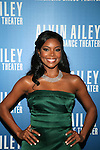Honorary Chair and Actress Gabrielle Union a Prada gown Attends Alvin Ailey American Dance Theater Opening Night Gala Benefit Held at New York City Center, NY