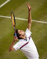 24-06-11, Tennis, England, Wimbledon, Gilles Simon