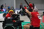 Pieter Cilissen (BEL)<br /> BISFed 2018 World Boccia Championships <br /> Exhibition Centre Liverpool<br /> 12.08.18<br /> ©Steve Pope<br /> Sportingwales