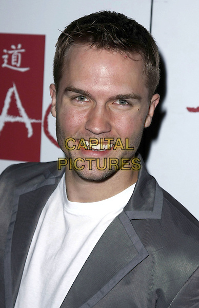 "SCOTT PORTER.Tao celebrates the release of the number 1 movie in America, ""Prom Night"" held at the Venetian Hotel and Casino, Las Vegas, Nevada, USA,.18 April 2008.portrait headshot grey gray .CAP/ADM/MJT.©MJT/Admedia/Capital Pictures"