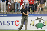 Ignacio Garrido tees off on the 15th tee during the 3rd round of the 2008 Open de France Alstom at Golf National, Paris, France June 28th 2008 (Photo by Eoin Clarke/GOLFFILE)