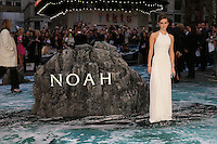 Emma Watson at the Noah - UK film premiere held at the Odeon Leicester Square, London. 31/03/2014 Picture by: Henry Harris / Featureflash
