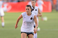 Houston, TX - Saturday July 16, 2016: Hayley Raso prior to a regular season National Women's Soccer League (NWSL) match between the Houston Dash and the Portland Thorns FC at BBVA Compass Stadium.