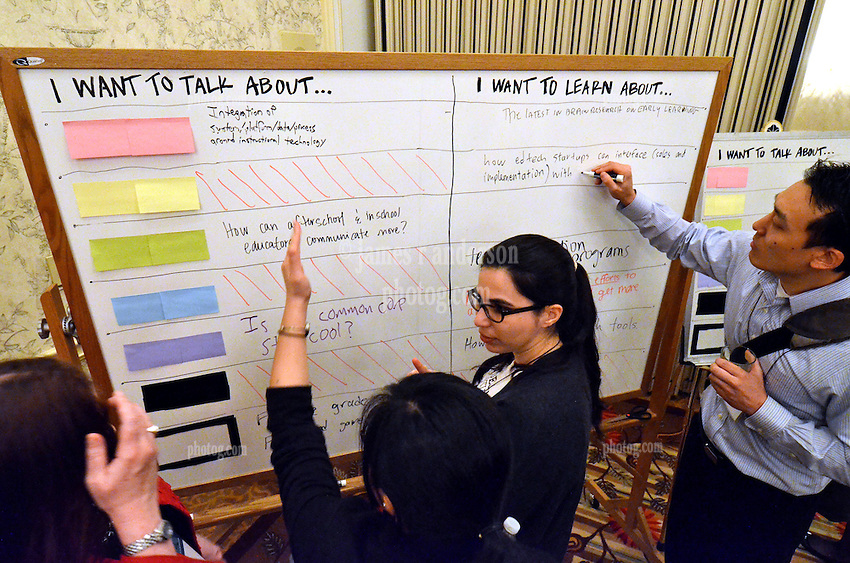 Yale SOM Education Leadership Conference Thursday Evening, 4 April. Unconference.