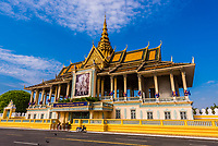 Chan Chhaya Pavilion, Royal Palace, Phnom Penh, Cambodia.