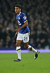 Dominic Calvert-Lewin during the English Premier League match at Goodison Park, Liverpool. Picture date: December 19th, 2016. Photo credit should read: Lynne Cameron/Sportimage