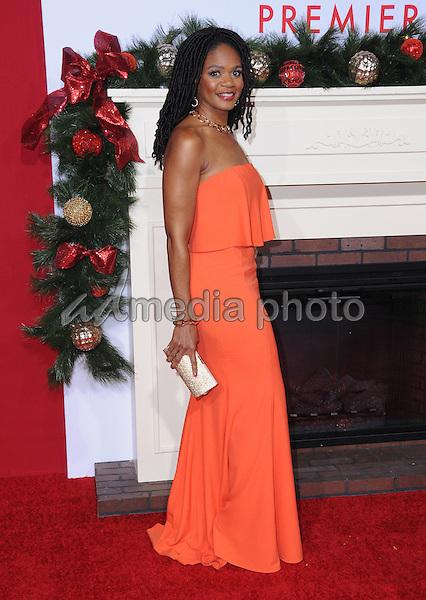 "03 November 2016 - Westwood, California. Kimberly Elise. Premiere Of Universal's ""Almost Christmas"" held at Regency Village Theatre. Photo Credit: Birdie Thompson/AdMedia"