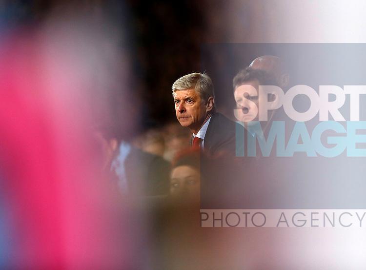 Arsenal's Arsene Wenger looks on..Barclays Premier League - West Ham Utd vs Arsenal - Upton Park Stadium - London - 06/10/12 - Picture David Klein/Sportimage