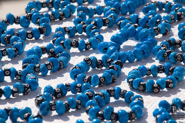Blue, black and white costume bracelets for sale in Greece