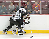 Colin McDonald, Anthony Aiello  The Boston College Eagles defeated the Providence College Friars 3-2 in regulation on October 29, 2005 at Kelley Rink in Conte Forum in Chestnut Hill, MA.  It was BC's first Hockey East win of the season and Providence's first HE loss.