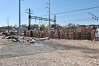 Construction Progress Railroad Station Fairfield Metro Center - Site visit 10 of once per month Chronological Documentation.