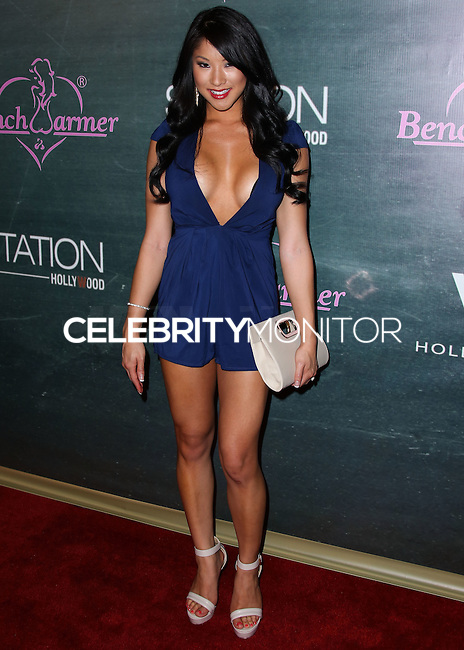 HOLLYWOOD, LOS ANGELES, CA, USA - AUGUST 28: Diana Fong arrives at the Benchwarmer Back To School Celebration to Benefit Children of the Night held at Station Hollywood at the W Hotel Hollywood on August 28, 2014 in Hollywood, Los Angeles, California, United States. (Photo by Xavier Collin/Celebrity Monitor)