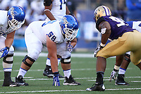 Sept 20, 2014:  Georgia State's Alex Stoehr against Washington.  Washington defeated Georgia State 45-14 at Husky Stadium in Seattle, WA.