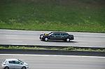 ©www.agencepeps.be - Visite officielle de Barack Obama à Bruxelles.Sous haute protection et accompagné d'une délégation d'environs 900 personnes.