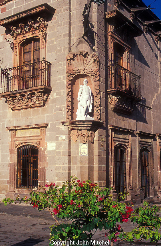 The Casa de Allende which houses the Museo Historico de San Miguel de Allende, San Miguel de Allende, Mexico
