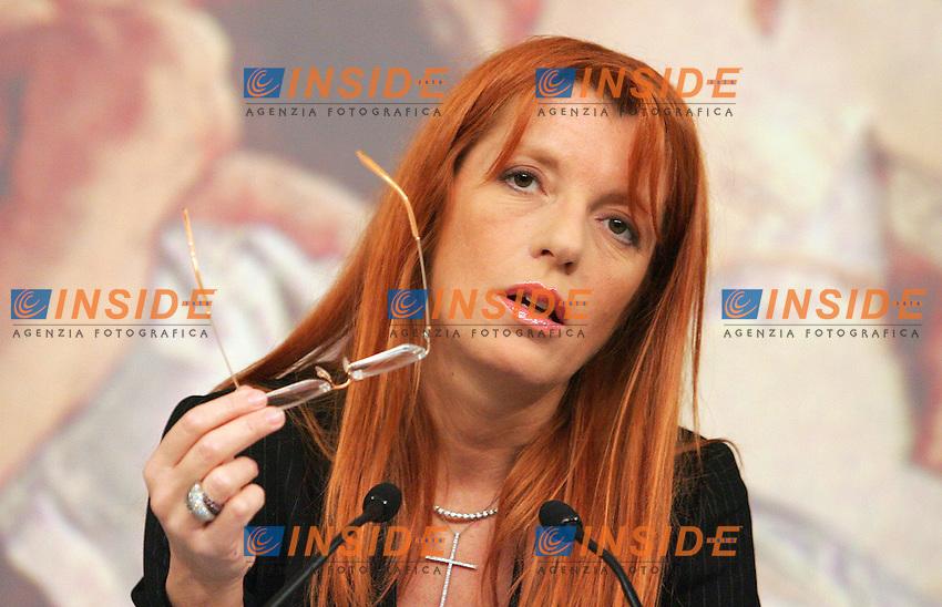 Press conference of Minister of Tourism<br /> Roma 25/03/2010 Conferenza stampa del Ministro del turismo Michela Vittoria Brambilla sui dati di previsione del turismo di pasqua e sui punti affrontai dal Governo in questi due anni.<br /> Photo Samantha Zucchi Insidefoto