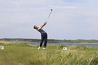 Robert Moran (Castle) on the 10th tee during the Flogas Irish Amateur Open Championship 2019 at the Co.Sligo Golf Club, Rosses Point, Sligo, Ireland. 15/05/19<br /> <br /> Picture: Thos Caffrey / Golffile<br /> <br /> All photos usage must carry mandatory copyright credit (© Golffile | Thos Caffrey)