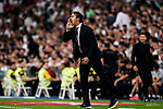 Julen Lopetegui Head Coach of Real Madrid shouts to his team during their La Liga  2018-19 match between Real Madrid CF and Atletico de Madrid at Santiago Bernabeu on September 29 2018 in Madrid, Spain. Photo by Diego Souto / Power Sport Images