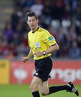 FUSSBALL   DFB POKAL 2. RUNDE   SAISON 2013/2014 SC Freiburg - VfB Stuttgart      25.09.2013 Schiedsrichter Wolfgang Stark