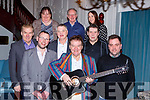 Mick Kavanagh with some of the Killarney musicians and organisors of the fundraising concert for his grand niece Callee Kavanagh in the Avenue Hotel on Saturday night front row l-r: Derek Whelan, Mick Kavanagh, Ray Kennedy. Middle row: Ollie Hennessy, Denis Brosnan, Ted Aherne. Back row: Carmel Doherty, Gerry O'Sullivan and Peig O'Sullivan