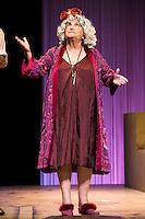 """Maria Galiana during theater play """"La Asamblea de las Mujeres"""" at Teatro La Latina in Madrid. August 23 2016. (ALTERPHOTOS/Borja B.Hojas) /NORTEPHOTO.COM"""