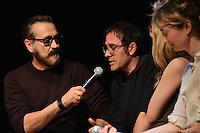 Marco Giallini, Valerio Mastandrea .Firenze 06/04/2013 Teatro del Sale.Rai Screenings 2013 Convegno Rai Cinema.Foto Andrea Staccioli Insidefoto