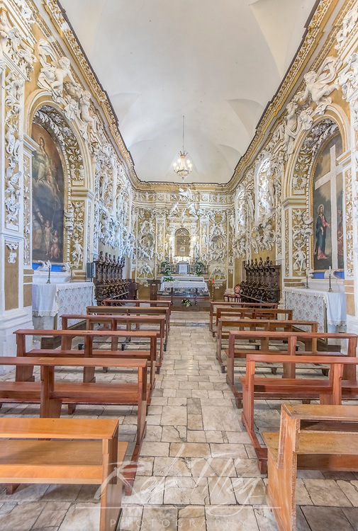 Europe, Italy, Sicily, Castelbuono, Castle Private Chapel