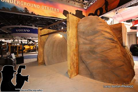 Cat booth Con Ag convention Las Vegas Nevada 2008