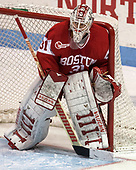 Erin O'Neil (BU - 31) - The Harvard University Crimson tied the Boston University Terriers 6-6 on Monday, February 7, 2017, in the Beanpot consolation game at Matthews Arena in Boston, Massachusetts.