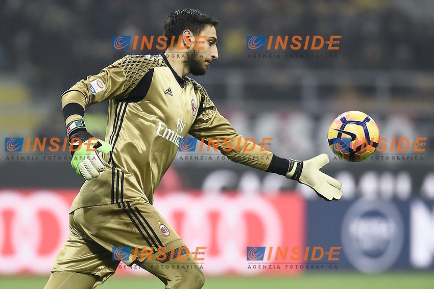 Milano 19-02-2017 Stadio Giuseppe Meazza Football Serie A 2016/2017 Milan - Fiorentina foto Image Sport/insidefoto<br /> Gianluigi Donnarumma