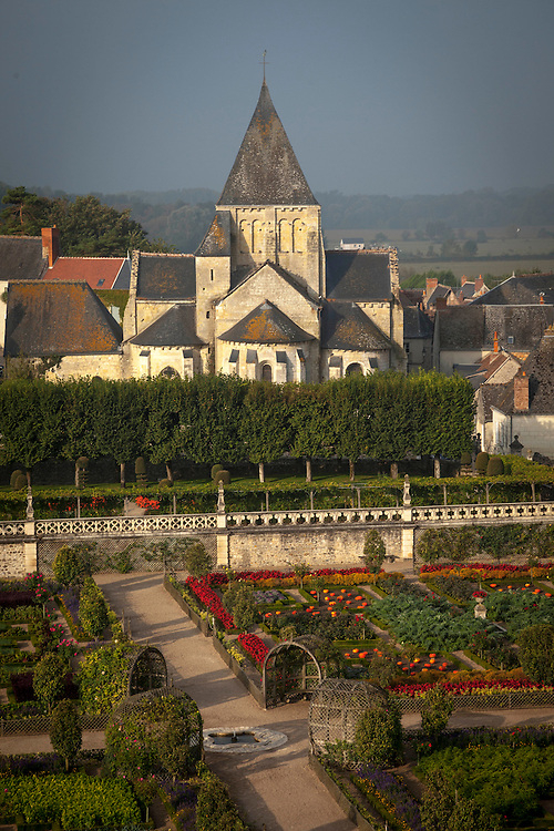 Chateau de Villandry's uniqueness lies in its unique 16th century expansive, geometric gardens