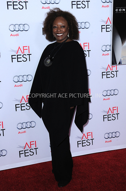 WWW.ACEPIXS.COM<br /> <br /> November 10 2015, LA<br /> <br /> L Scott Caldwell attends the AFI FEST 2015 Gala Premiere of 'Concussion' at the TCL Chinese Theatre on November 10, 2015 in Hollywood, California.<br /> <br /> By Line: Peter West/ACE Pictures<br /> <br /> <br /> ACE Pictures, Inc.<br /> tel: 646 769 0430<br /> Email: info@acepixs.com<br /> www.acepixs.comC