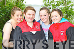Catherine Coffey, Máire Twiss, Meaghan O'Sullivan and Katie Giles Fossa RC who participated at the Killarney Regatta on Sunday .
